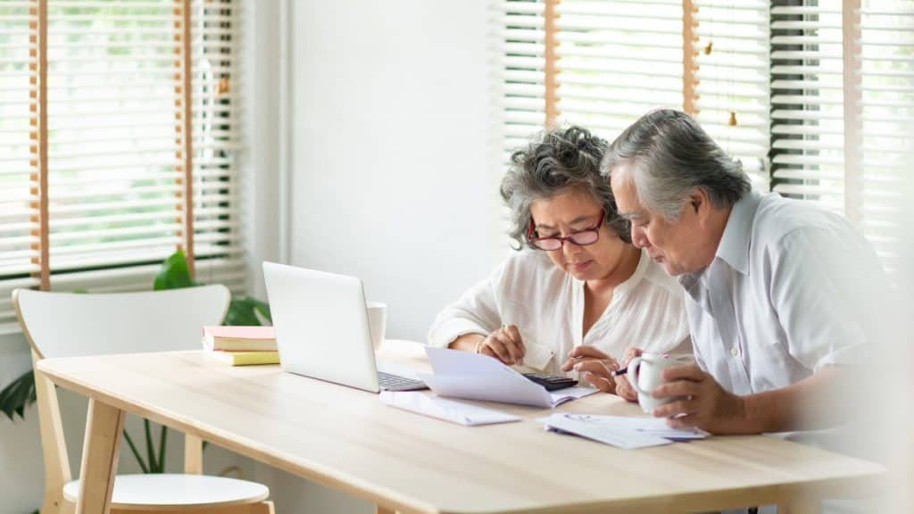What is a deferred pension?